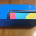 Nexus 5の外装の箱