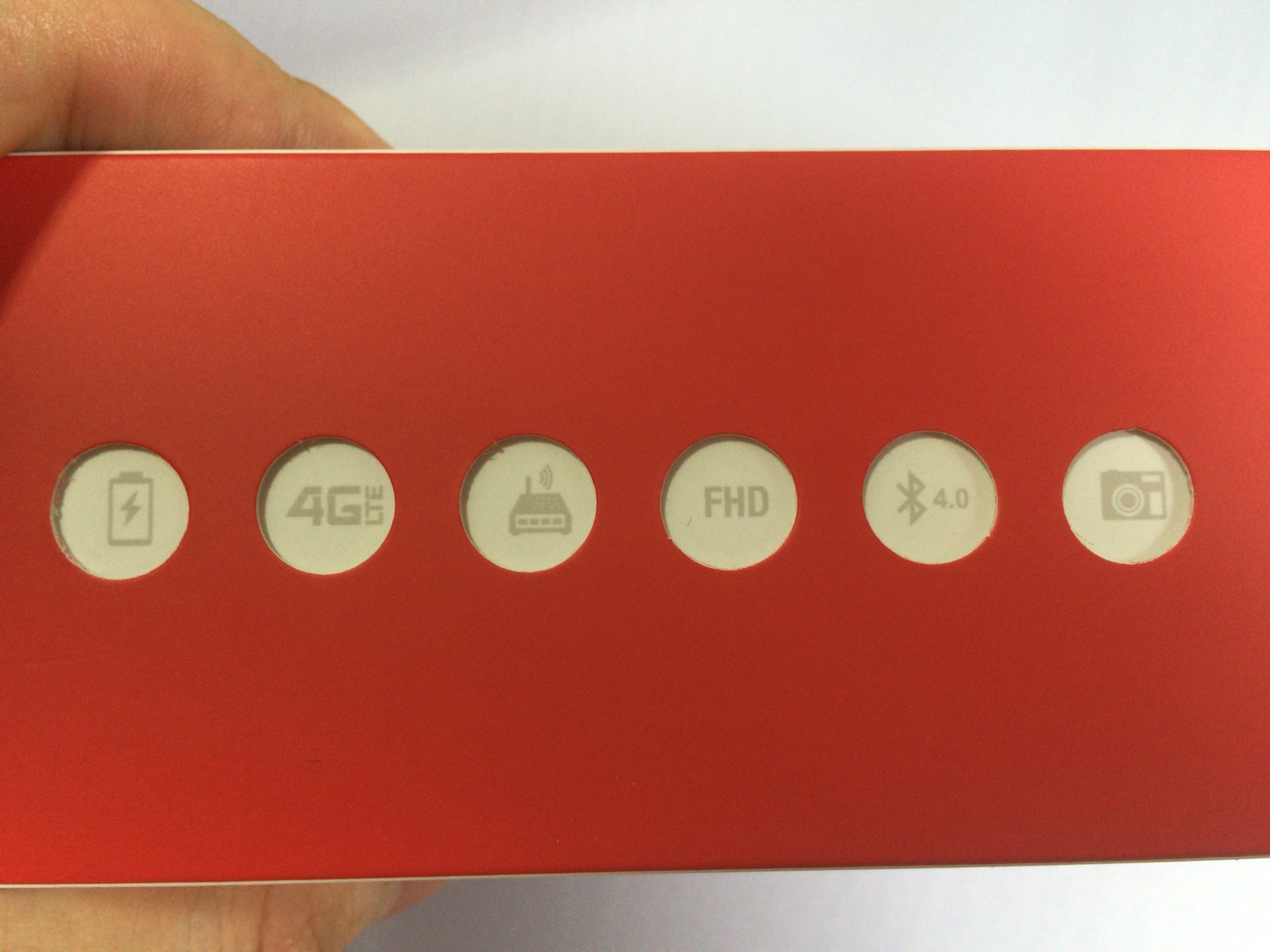 Zenfone 2の箱の右側面