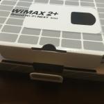 【動画あり】WiMAX2+モバイルルーター「WX02」の開封と触った感想(レビュー)